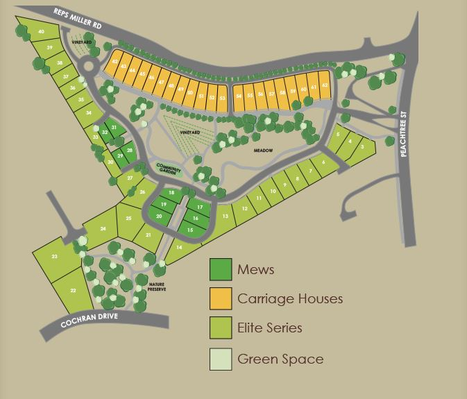 Adams Vineyard Neighborhood Site Plan