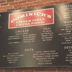 Menu At Dominick's Italian Norcross GA
